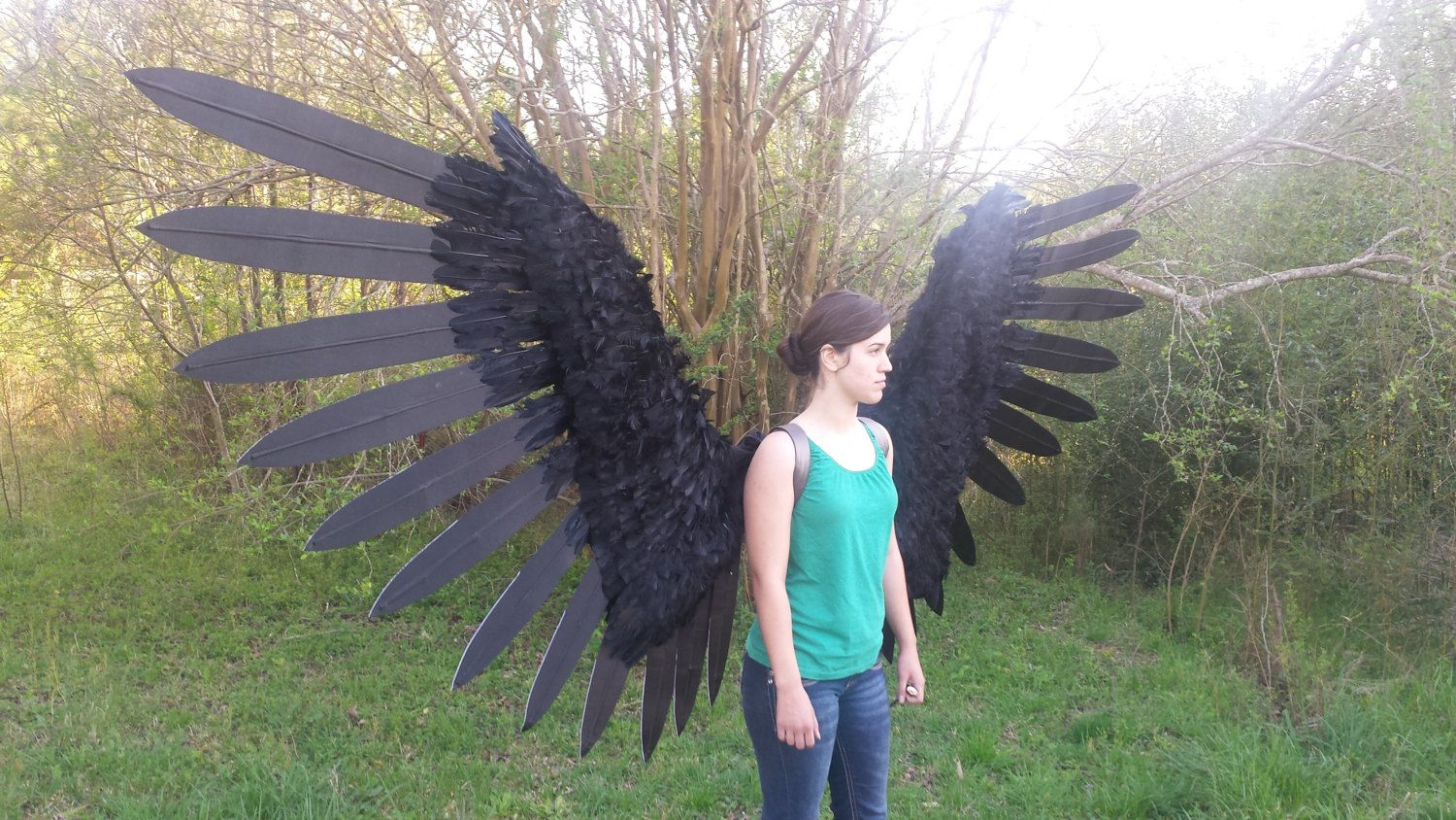 How to grow wings easily and real 80