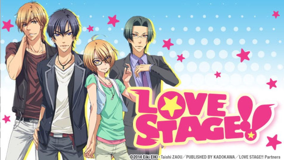 love stage anime cast