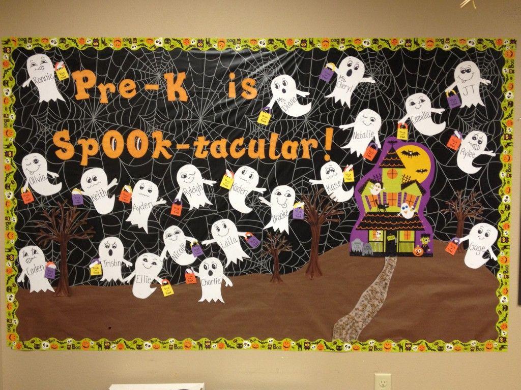 Halloween Bulletin Board Idea 1