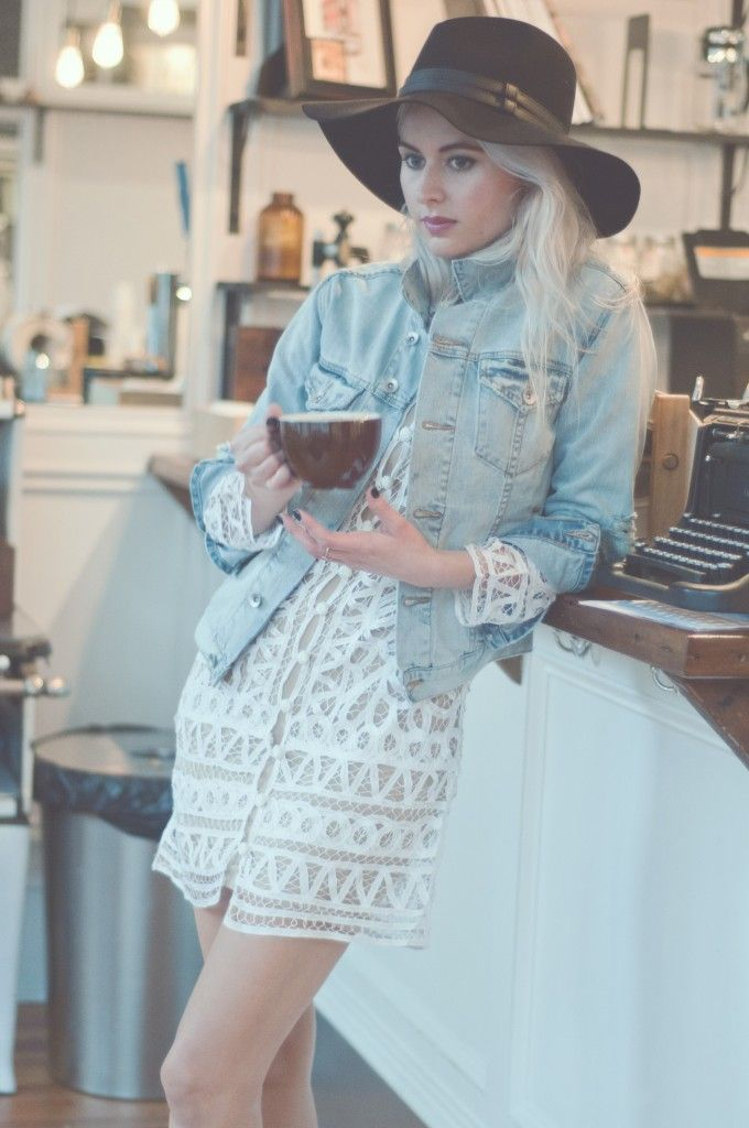 Mary of Imperfect Wonder takes us to a bike shop turned coffee shop in Chicago! Pictured wearing The Over and Out Jacket (http://www.nastygal.com/product/nasty-gal-denim--the-over-and-out-jacket?utm_source=pinterest&utm_medium=smm&utm_term=ngdib_collab&utm_content=ng_about_town&utm_campaign=pinterest_nastygal) & The Hideaway Panama Hat…