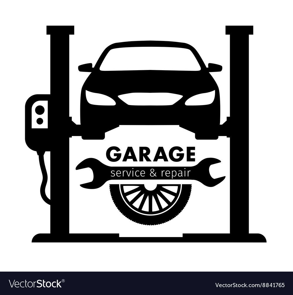 Auto Center Garage Service And Repair Logo Vector Template Download A Free Preview Or High Quality Adobe Illu Garage Logo Mechanics Logo Mechanic Logo Design