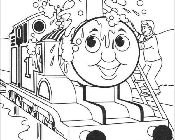 Thomas more Colouring Pages | Thomas the Train | Pinterest | VW ...