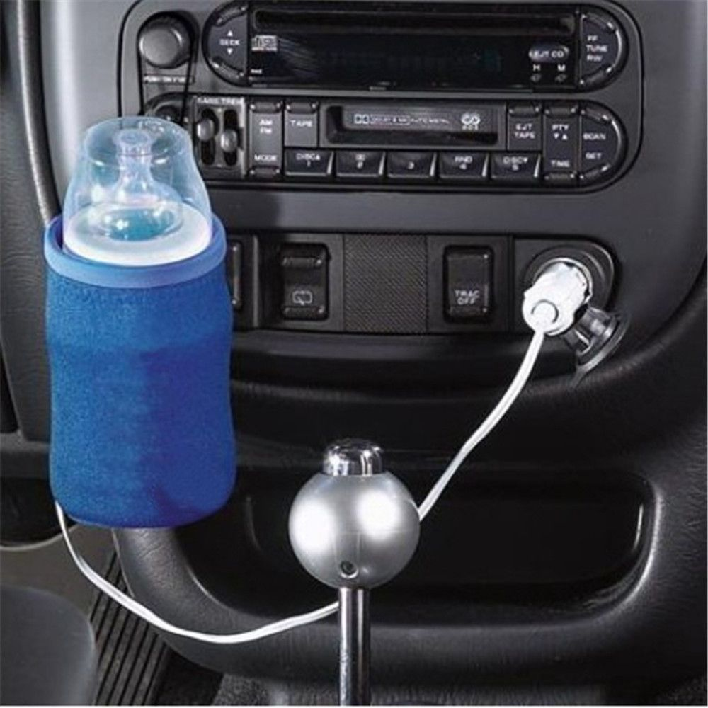 Baby Bottle Warmer Portable Car Heater Cover Food Milk Travel Bottle Warm 12V ##
