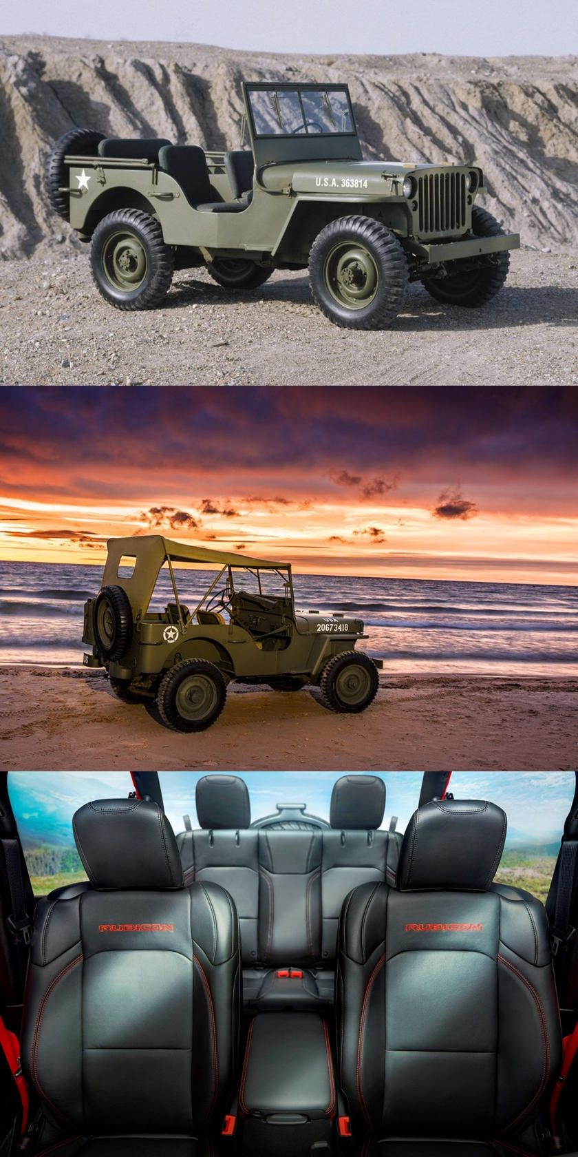 History Of The Jeep Wrangler In Five Generations Over 70 Years And Five Generations The Wrangler Is Still The Off Roading Jeep Wrangler Jeep Jeep Wrangler Yj
