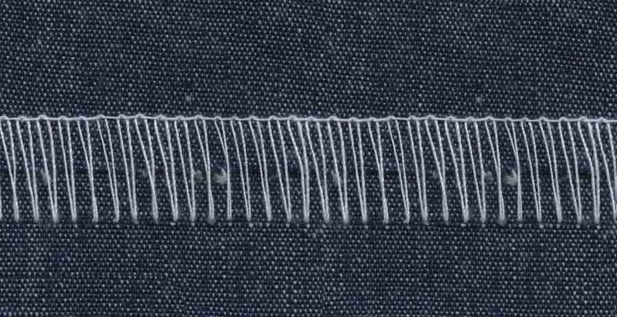 stitching denim STITCHING Pinterest Stitch, Fabrics and Cotton