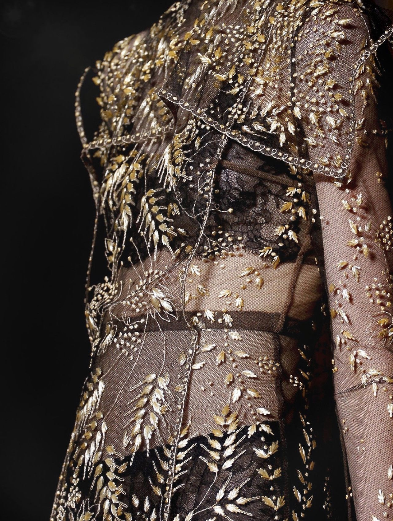 Valentino fall 2013 couture collection themed after for Haute couture details