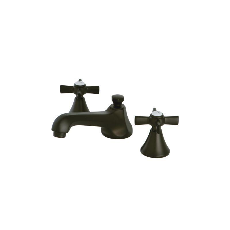 Kingston Brass KS447.ZX Millennium Widespread Double Handle Bathroom ...