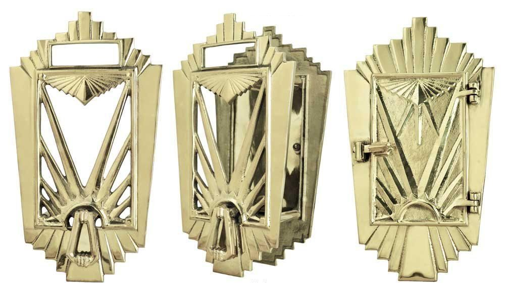 art deco speakeasy door hardware.
