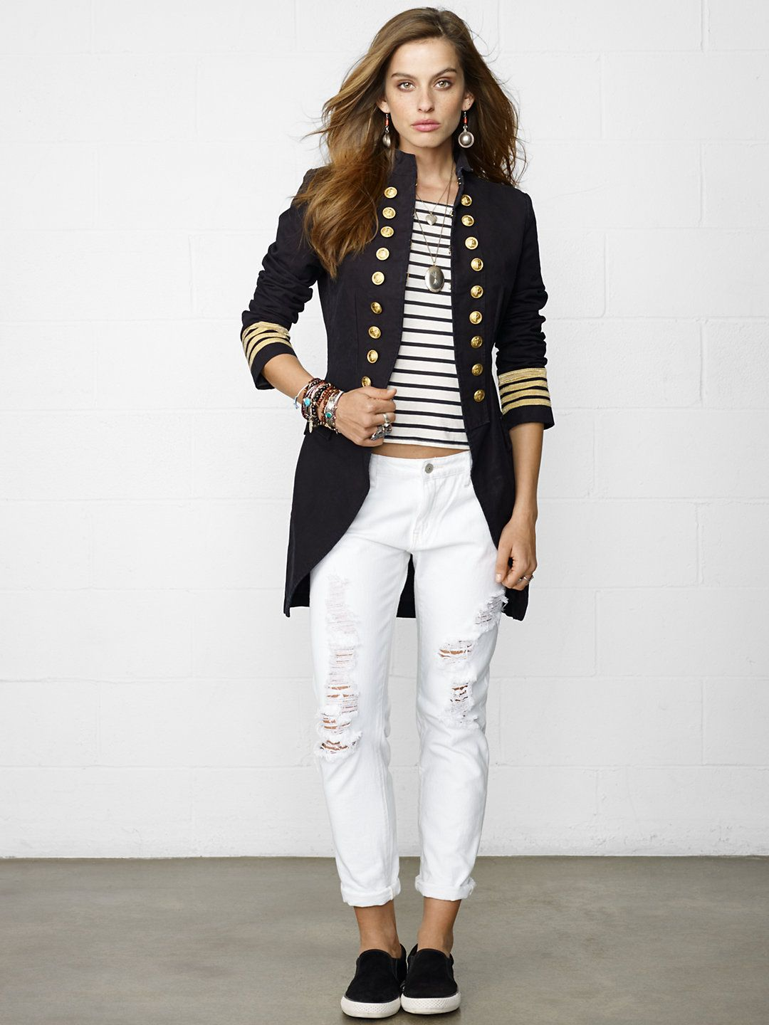 Captain S Coat Outerwear Jackets Outerwear Ralphlauren Com Military Inspired Fashion Military Fashion Clothes [ 1440 x 1080 Pixel ]
