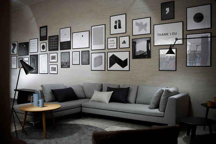 pared de salon (7)   Deco ( Vinilos - Papeles - Tapices - Cuadros ...