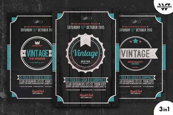 Book Keeping Accounting Service Flye by Business Templates on - retro flyer templates