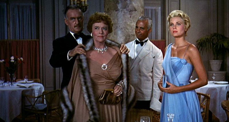 Love Grace Kelly's blue gown from To Catch a Thief.