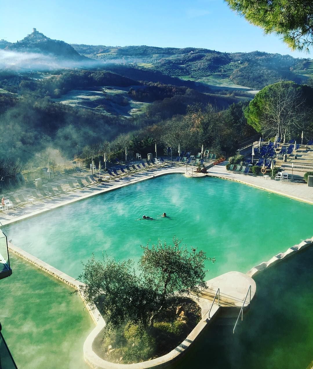 Bagno Vignoni Hot Springs In The Heart Of Val D Orcia Hot