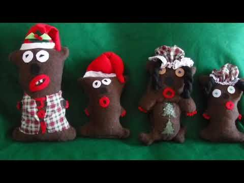 CRAFTING CHRISTMAS DECORATIONSMISFIT BEARS MY CHRISTMAS DECOR