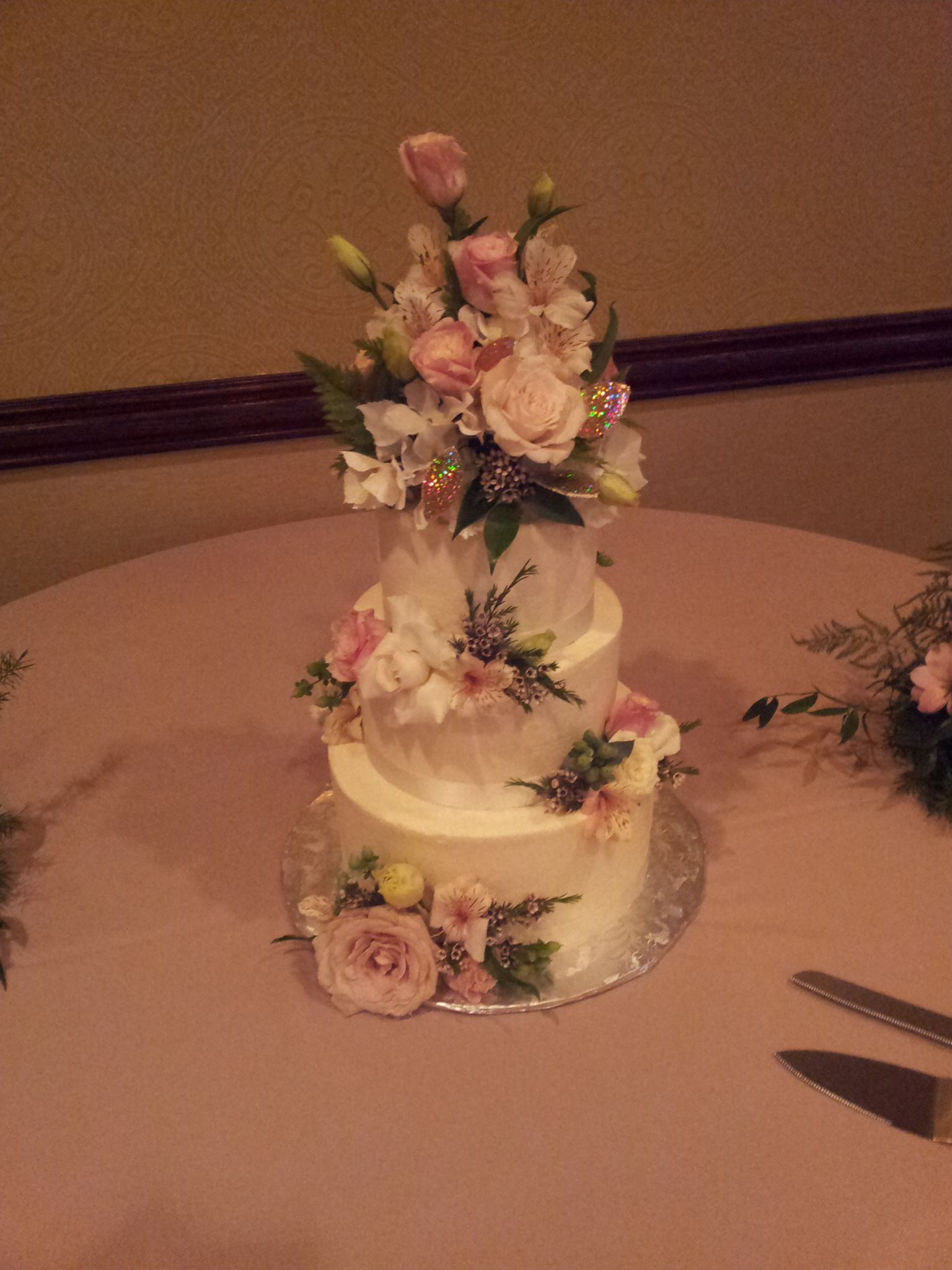 A great cake from a great vendor! http://www.clarencedalecake.com/