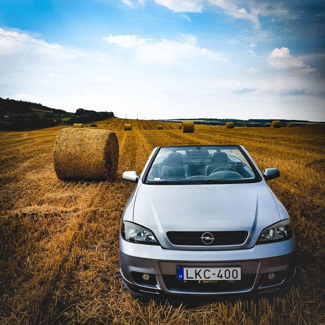 Agricultural Convertible Opel Bertone Bertonecabrio Astrag Opelastra Opelfanatic Cabrio Convertible Landscape Summer Storm Ilovemycar Ins Carros
