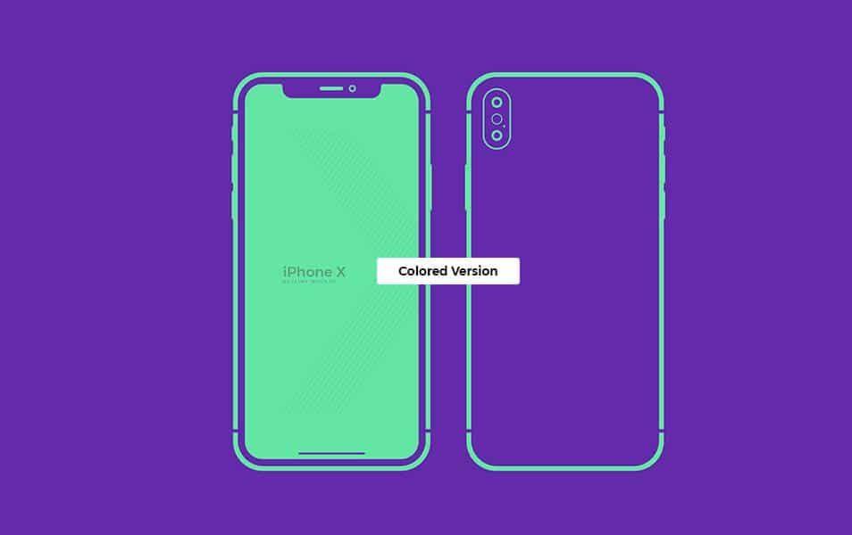 Iphone X Mockup Presentation Slide Design Presentation Design