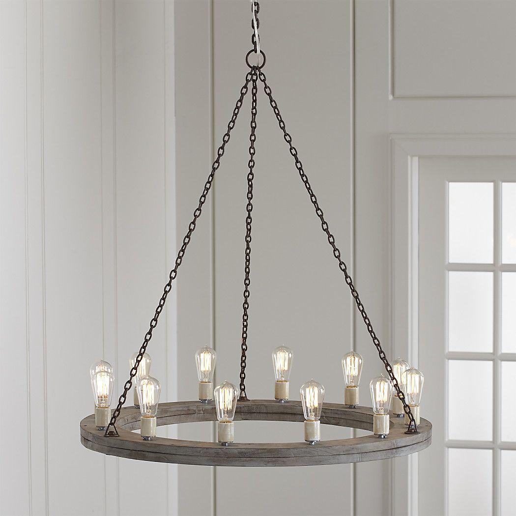 Geoffrey 36 round wood chandelier rustic industrial chandeliers geoffrey 36 round wood chandelier arubaitofo Choice Image