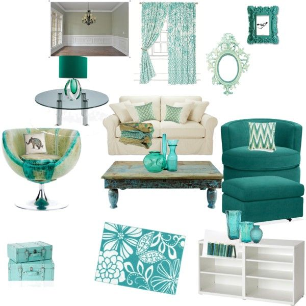 Teal accessories for living room living room for Teal blue living room ideas