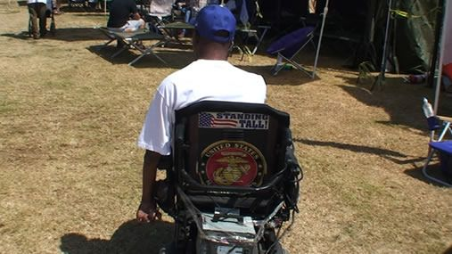 Disabled Homeless Veteran needs your help! Please donate to