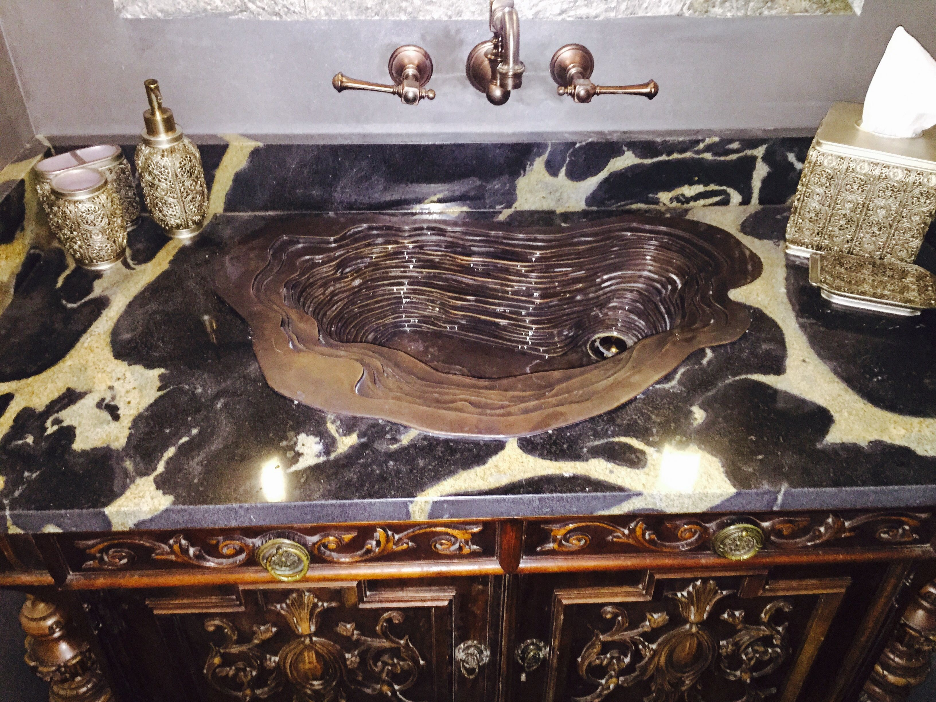 Old World Castle Bathroom Vanity Sink Area Sink Found On Amazon