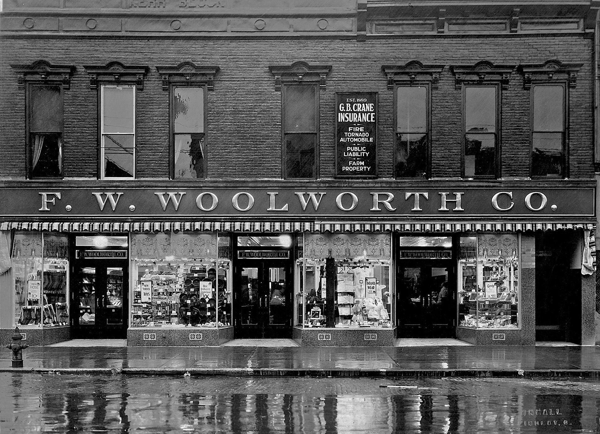 Findlay Ohio, Woolworth's Shorpy historical photos