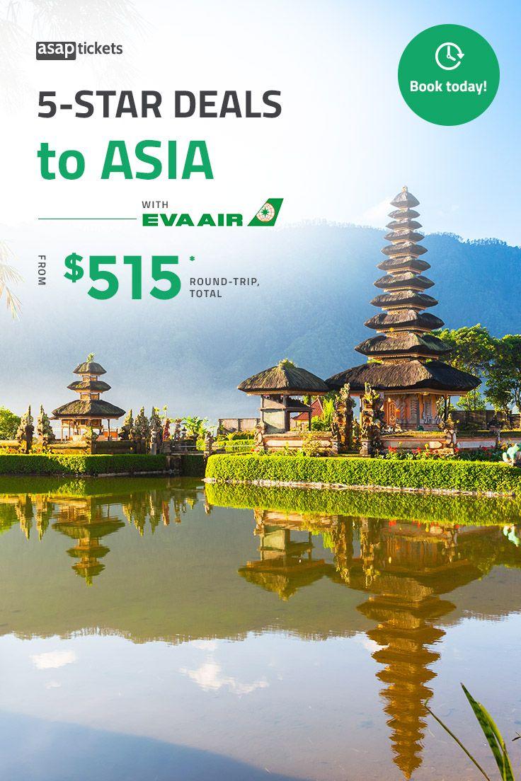 HUGE EVA Air Sale to Asia 🌏 Enjoy a 5Star quality flight
