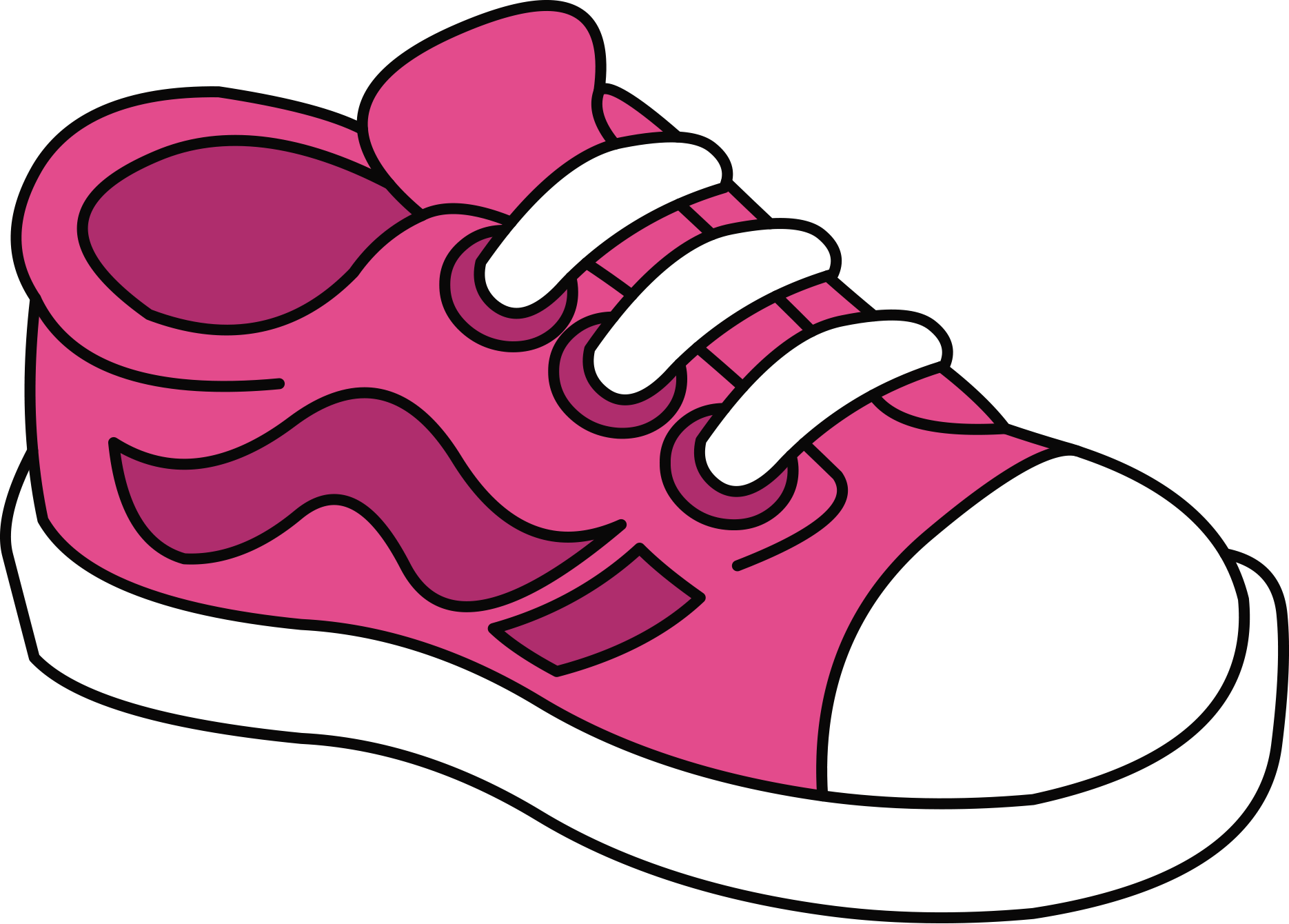 TENIS* ** * | Shoes clipart, Tennis shoes, Clip art