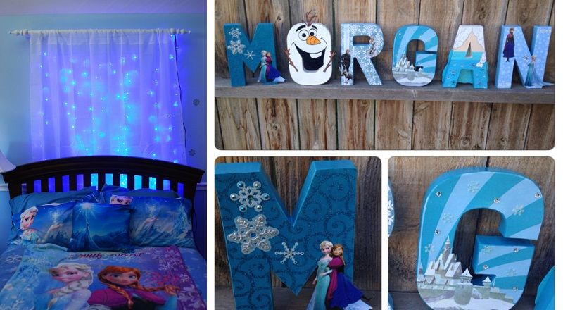 25 id es g niales pour une chambre de la reine des neiges frozen do it yourself pinterest. Black Bedroom Furniture Sets. Home Design Ideas