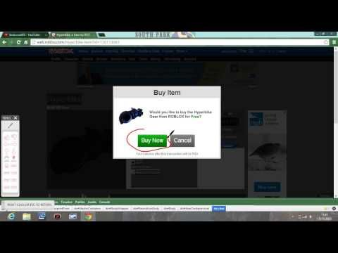 How To Get Everything Free On The Roblox Catalog Http