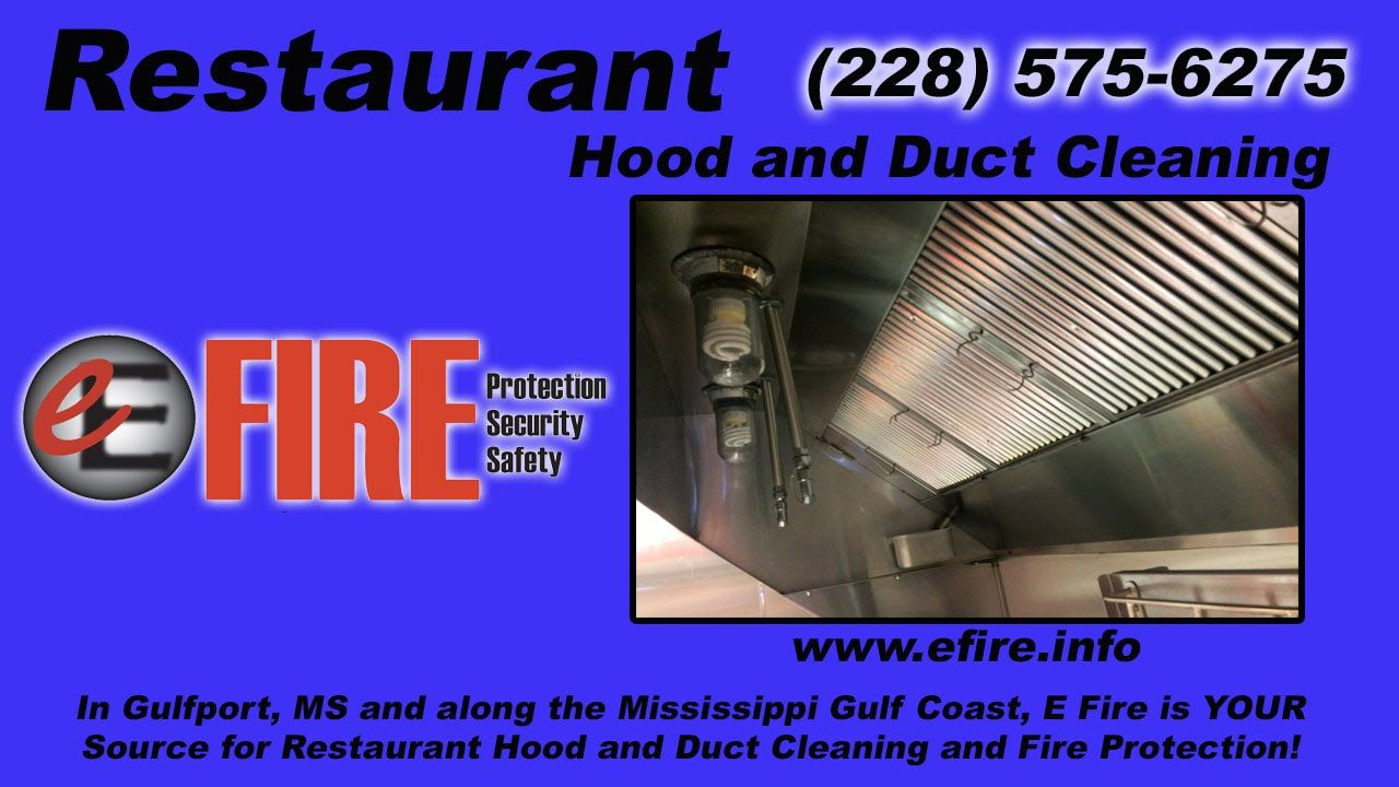 Restaurant Hood and Duct Cleaning Gulfport MS.. Who Cleans