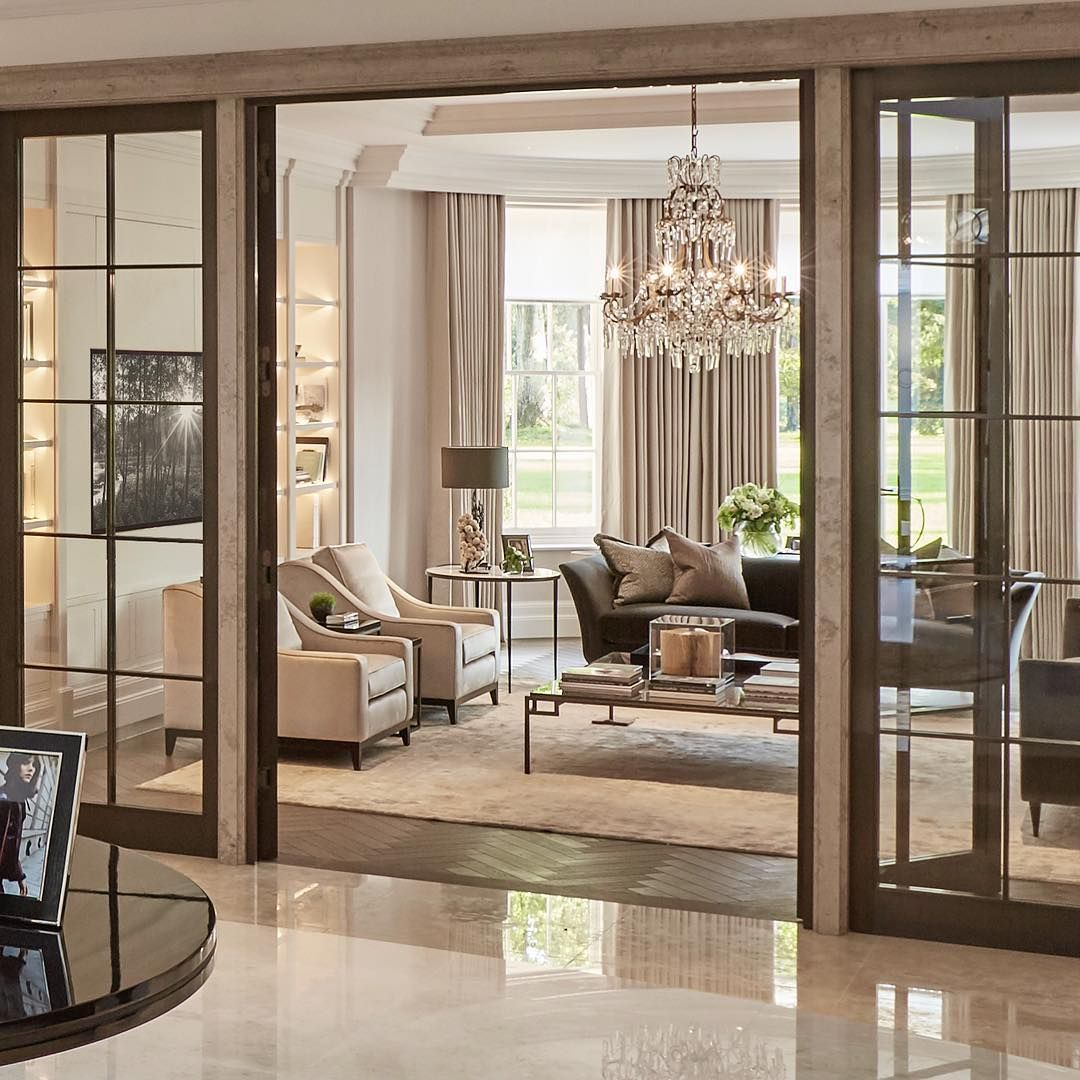 "15 Beautiful Mediterranean Living Room Designs You Ll Love: Louise Bradley On Instagram: ""Bronze Doors And Stone"