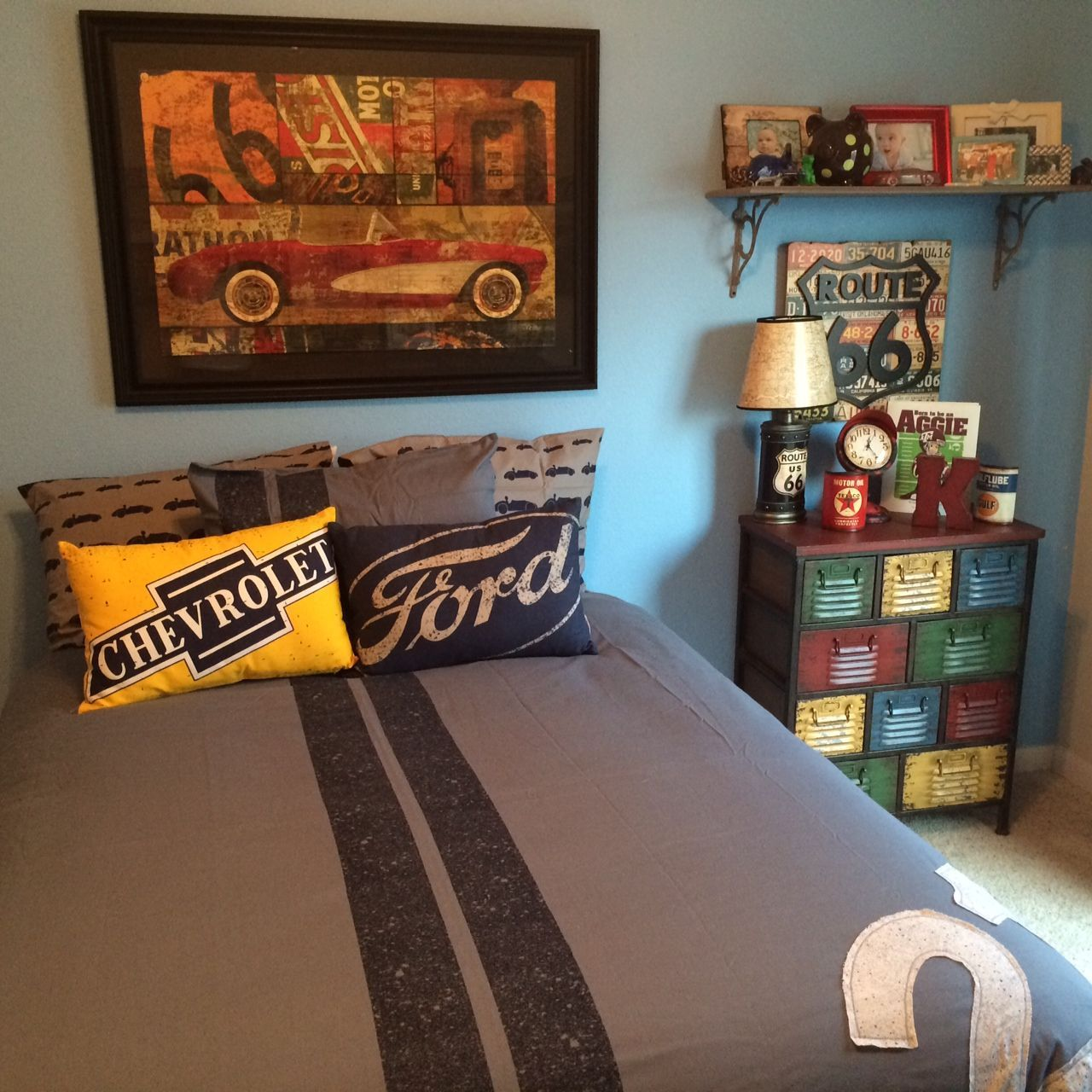 Retro Racing Cars#restorationhardwarebaby.com#HobbyLobby