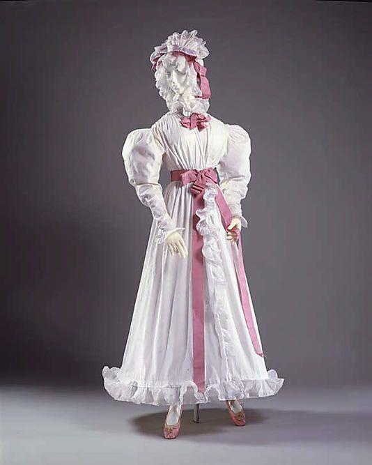 1827-1830 Dress, Morning