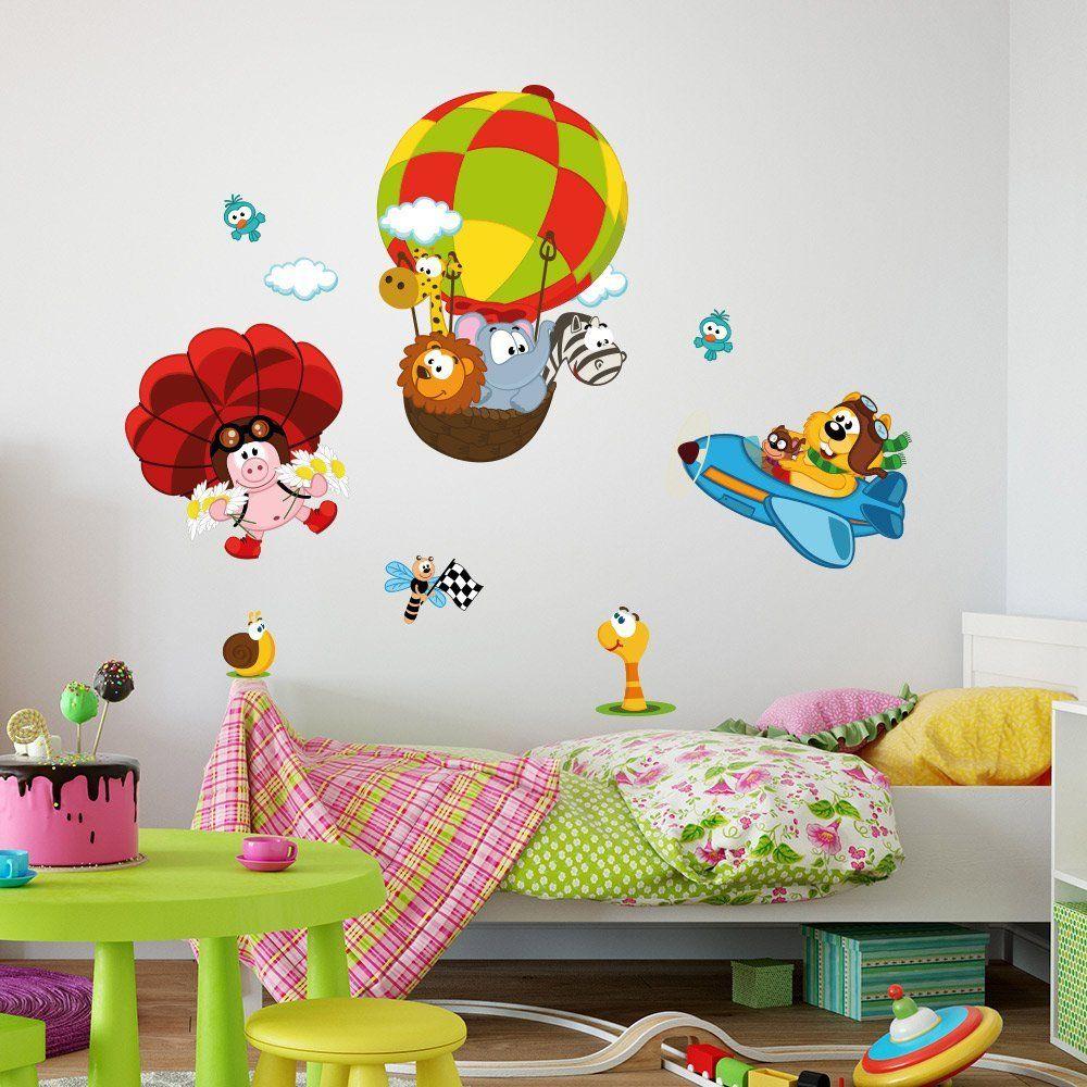 Adesivo murale per bambini Wall Art Tutti a bordo