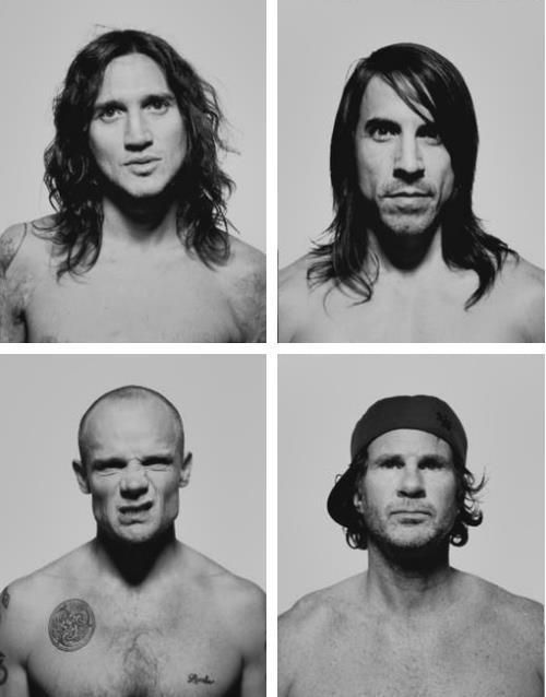 red hot chili peppers <3