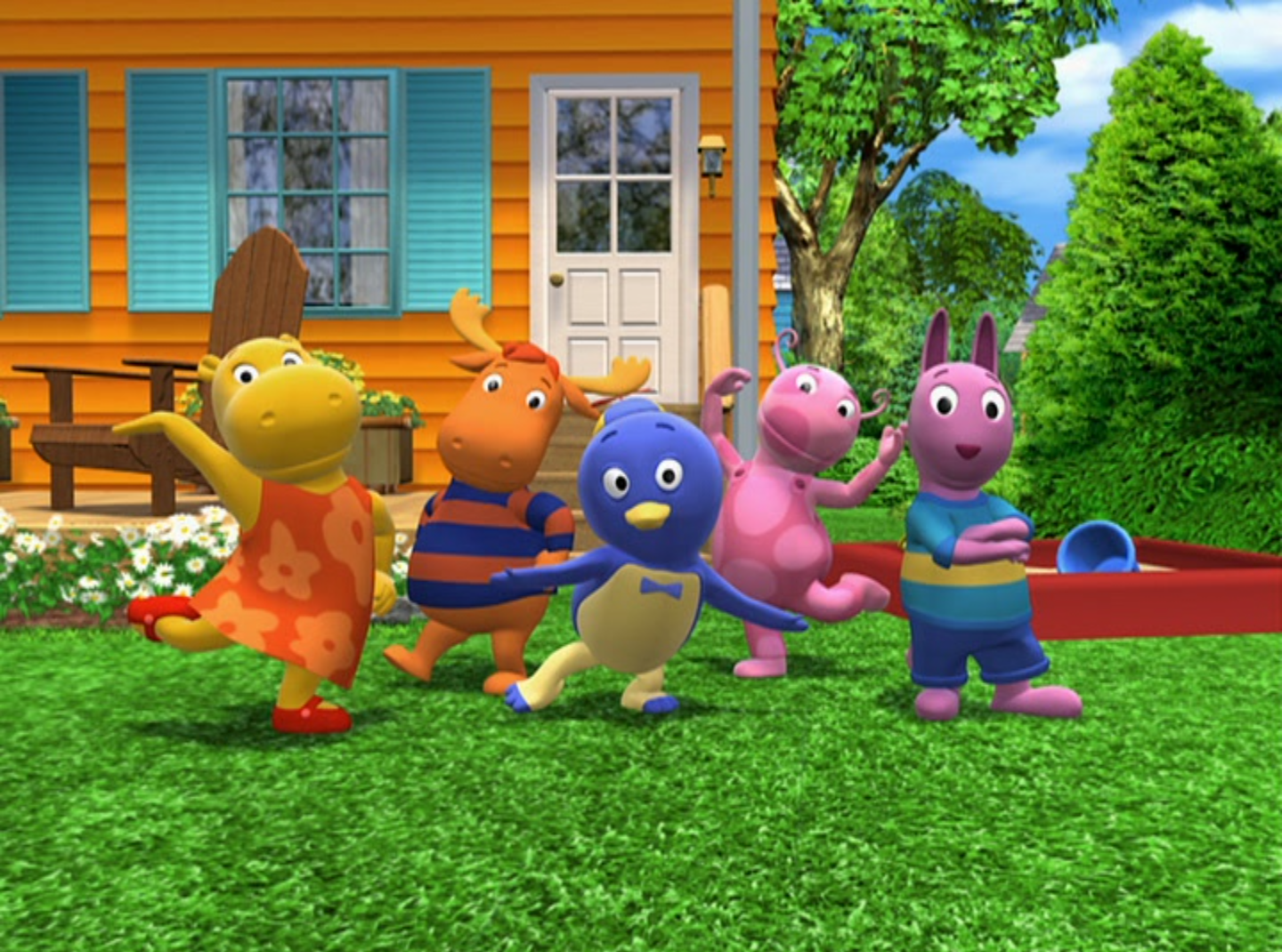 Want To Know All The Snacks The #backyardigans Ate At The End Of Each  Episode