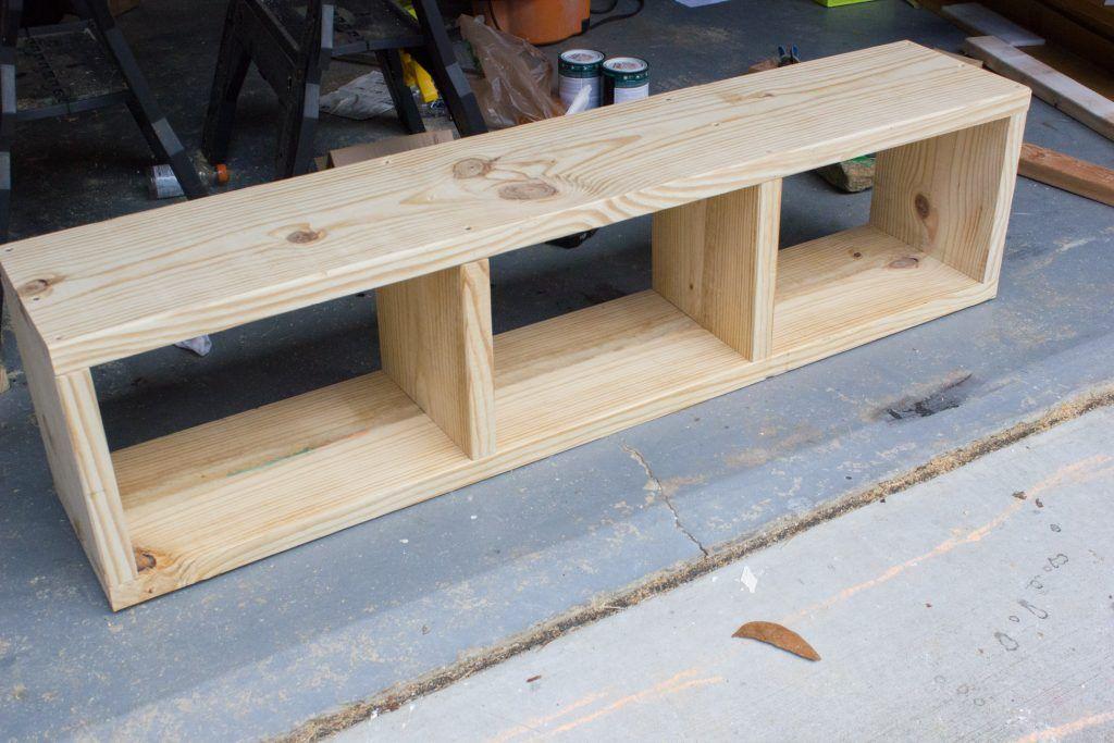 Build Your Own Diy Storage Bench Diy Bench Seat Diy Wood Bench Diy Mudroom Bench