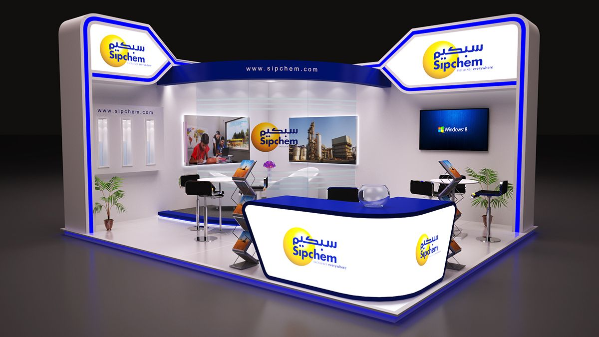 Exhibition Stall Sketch : Saudi arabia random exhibition on behance booth exhibition