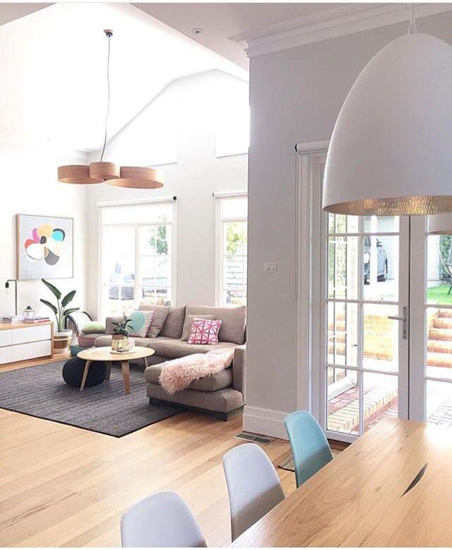 Muebles, suelo y ventanas | For the Home | Pinterest | Soggiorno ...