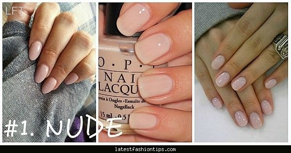 Nice Nail Color For 2016 Summer