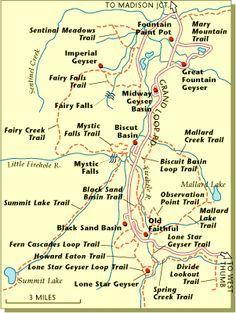 Yellowstone Hiking Trails Hiking Pinterest Hiking trails