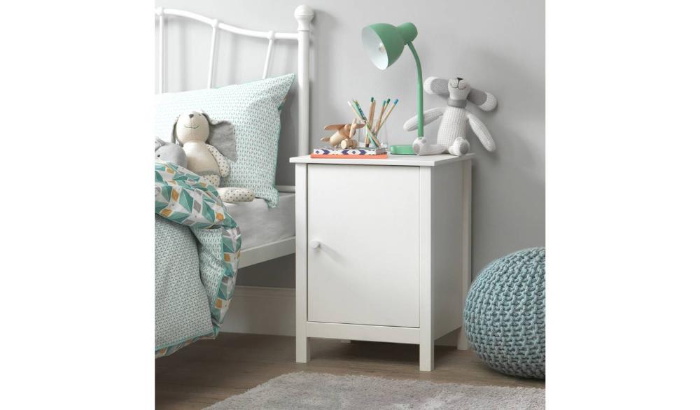 Buy Argos Home Scandinavia White Bedside Chest Kids