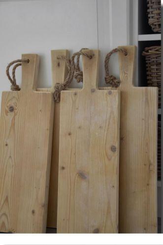Ongebruikt Steigerhouten broodplank (met afbeeldingen) | Houten snijplanken PY-72
