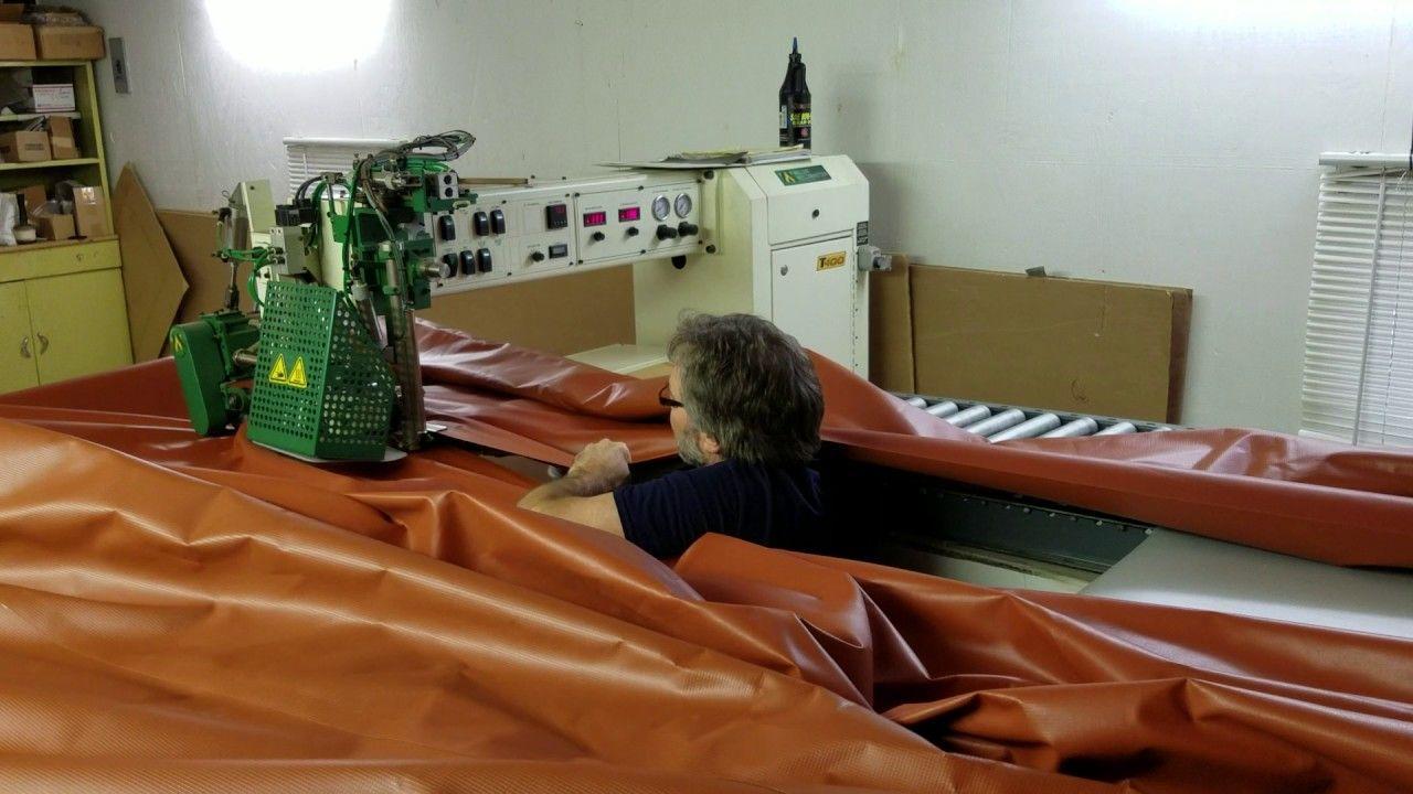 Vanguard vinyl roof panels for a large carport canopy ...