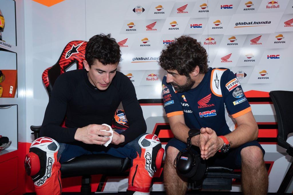 Marc Marquez & Santi Hernandez