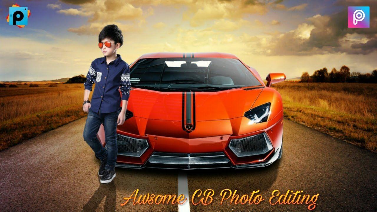 awsome cb photo editing tutorial | fantasy photo | picsart editing