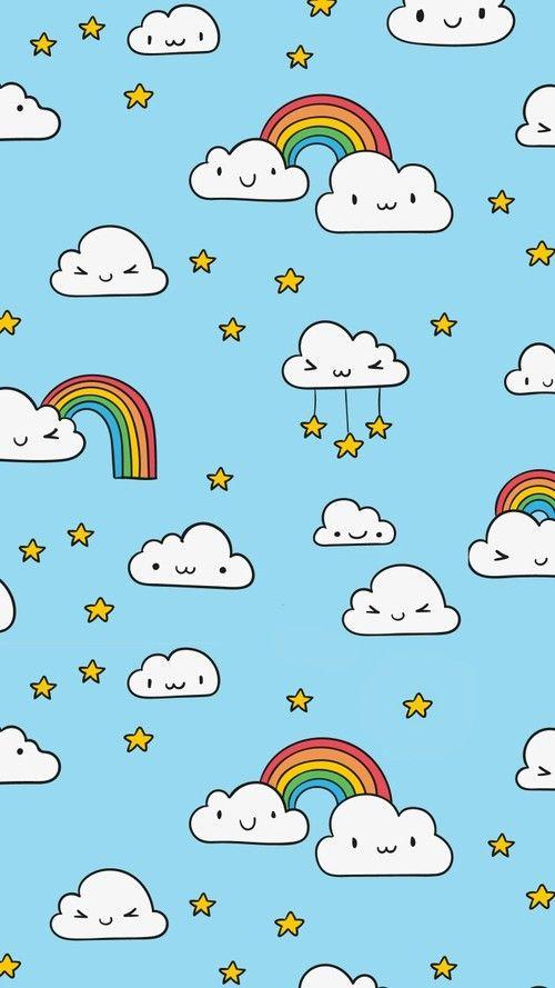 Wallpaper Iphone Unicorn Wallpaper Rainbow Wallpaper Wallpaper