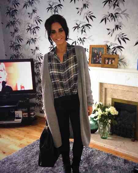 Vicky so gorgeous and that outfit