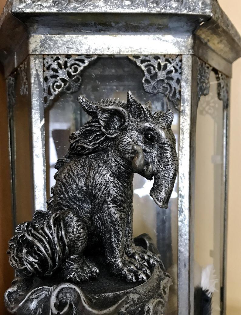 Baku The Dream Guardian Statue Etsy Statue Mythological Creatures Mythology Art